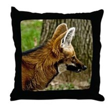 Maned Wolf 1529 Throw Pillow