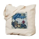 "Tote Bag - ""Crows of New Caledonia"""