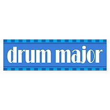 Band Drum Major Bumper Bumper Sticker