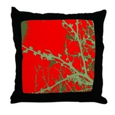 """asian branch""Throw Pillow"