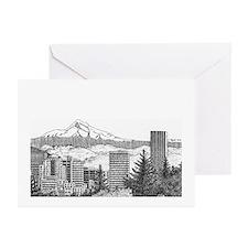 Portland/Mt. Hood Greeting Cards (Pk of 20)