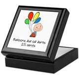 Balloons full of farts.. Keepsake Keepsake Box