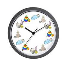 Baby Boy Wall Clock