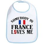 Somebody In France Bib