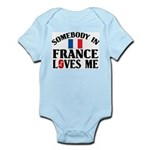 Somebody In France Infant Creeper