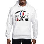 Somebody In France Hooded Sweatshirt