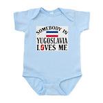 Somebody In Yugoslavia Infant Creeper