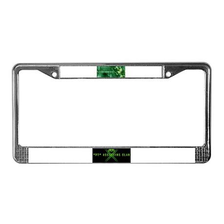 *PT* ASSASSINS CLAN License Plate Frame