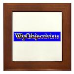 WyObjectivists Framed Tile