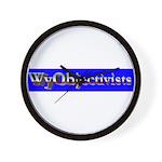 WyObjectivists Wall Clock