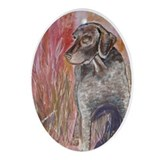 German Shorthaired Pointer Oval Ornament