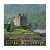 Celtic Journeys Tile Coaster