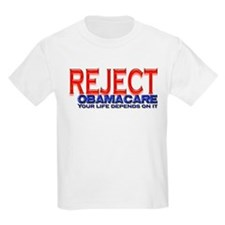 REJECT OBAMACARE T-Shirt