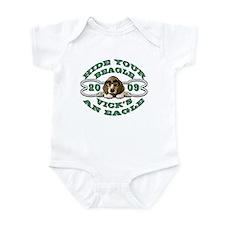 Vick Beagle Eagle Disguised Infant Bodysuit