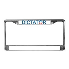 Dictator License Plate Frame