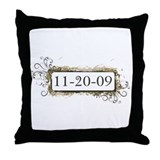 New Moon 11-20-09 Throw Pillow