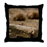 Prairie Dog 1531 Throw Pillow