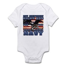 USN Nephew Infant Bodysuit