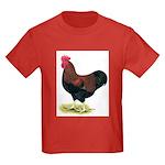 Partridge Rock Rooster Kids Dark T-Shirt