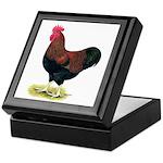 Partridge Rock Rooster Keepsake Box