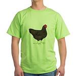 Partridge Rock Hen Green T-Shirt