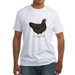Partridge Rock Hen Fitted T-Shirt