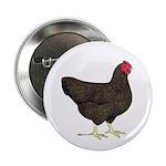 "Partridge Rock Hen 2.25"" Button (10 pack)"