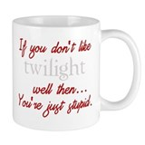 Twilight funny quote Small Mugs
