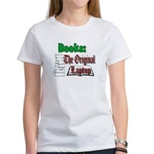 Books: the Original Laptop Tee