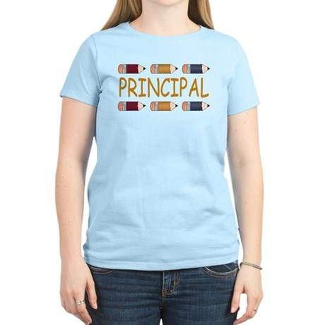 Best School Principal Women's Light T-Shirt