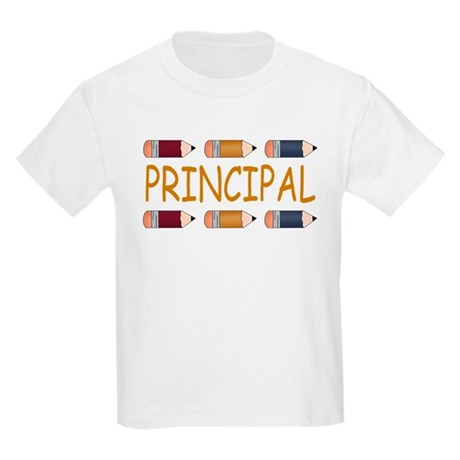 Best School Principal Kids Light T-Shirt