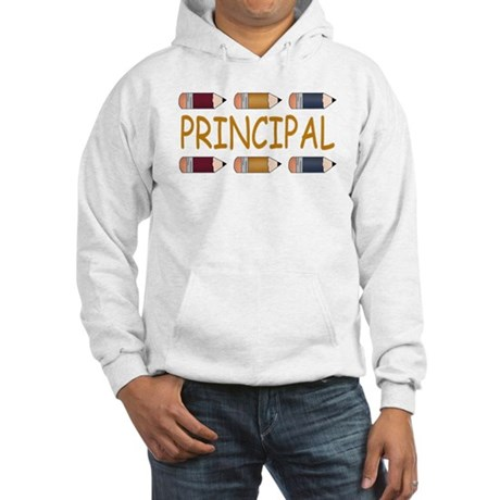 Best School Principal Hooded Sweatshirt
