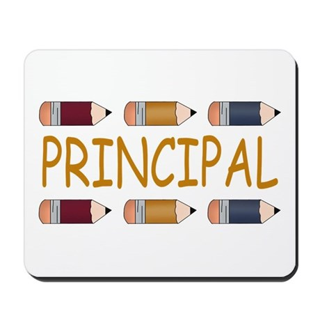 Best School Principal Mousepad