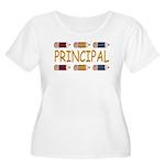 Best School Principal Women's Plus Size Scoop Neck