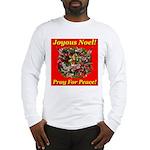 Patriotic Wreath Long Sleeve T-Shirt