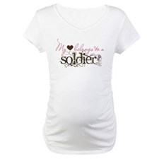 My Heart Belongs to a Soldier Shirt