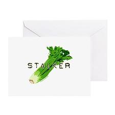 celery stalker, dieter/vegetarian/vegan Greeting C
