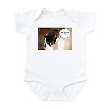 Tuxedo Cat Humor Infant Bodysuit