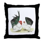 Black-tailed White Japanese B Throw Pillow