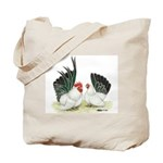 Black-tailed White Japanese B Tote Bag