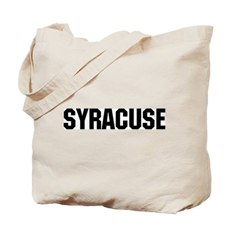 Syracuse, New York Tote Bag