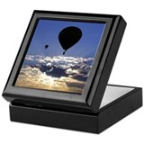 Hot Air Balloons Keepsake Box