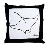 Manta Throw Pillow