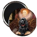 Queen / Cocker Spaniel (blk) 2.25