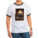 Queen / Cocker Spaniel (blk) Ringer T