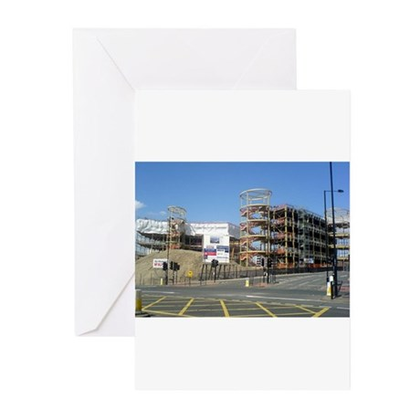 City Campus East Greeting Cards (Pk of 10)