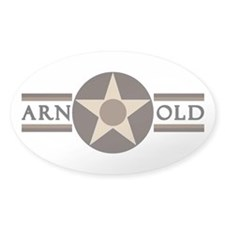 Arnold Air Force Base Oval Decal