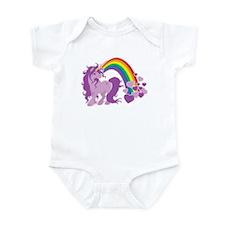GIRLY UNICORN Infant Bodysuit