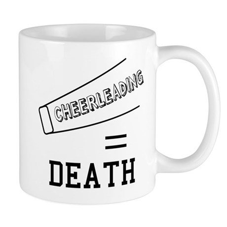 Cheerleading Equals Death Mug