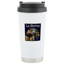 Ceramic Rialto Citrus LabelTravel Mug